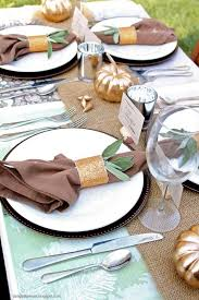 16 best thanksgiving table settings images on
