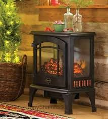 Amish Electric Fireplace Electric Stove Space Heater Amish Style Fireplace Portable