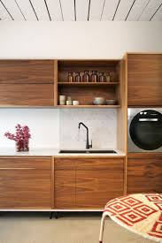 Plywood For Kitchen Cabinets by Best 25 Mid Century Kitchens Ideas On Pinterest Midcentury