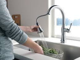 Delta Faucet Cassidy Kitchen by Delta Faucet 9197 Ar Dst Cassidy Single Handle Pull Down Kitchen