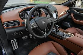 maserati car interior 2017 first look maserati levante 2 0 surface