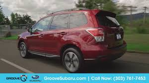 subaru forester 2017 red 2017 subaru forester walkaround features and updates youtube