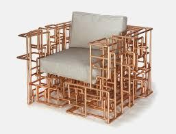 coussins originaux canapé diy bricolage meubles originaux chaise tuyaux bronze récup coussins