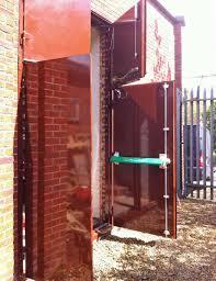fire resistant glass doors secure flood proof doors