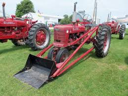 farmall h with long loader international farmall pinterest