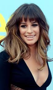front fringe hairstyles medium hair with front bangs