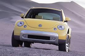 2000 volkswagen beetle trunk volkswagen beetle dune concept first look motor trend