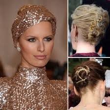 gold hair accessories 5 brilliant ways to get in on the gold hair accessory trend gold