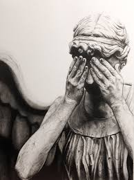 weeping angel drawing by myawho on deviantart