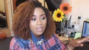 Mongolian Curly Hair Extensions by Best Curly Hair Ever Mercy U0027s Hair Extensions Youtube