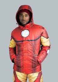 halloween iron man costume iron man snow jacket