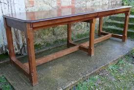 Mahogany Boardroom Table Arts Crafts Oak Mahogany Boardroom Table Antiques Atlas