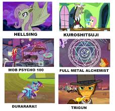 Mlp Fim Meme - my little pony anime meme 7 by brandonale on deviantart