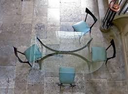 mid century dining table glass dining table alto stile