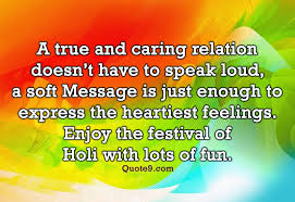 enjoy the festival of holi quotes and wishes quote9