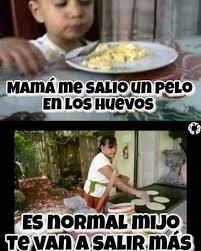 Memes Mama - dopl3r com memes mamá me saio un pelo en los huevos es normal