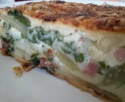 comment cuisiner les blettes marmiton tarte sans pâte aux blettes recette de tarte sans pâte aux blettes