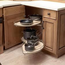 wooden pantry kitchen ideas in corner tall pantry pull out modern curved shelves that give corner cabinet accessibility in corner kitchen