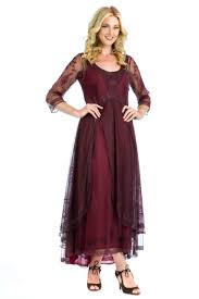gown style dresses nataya 40163 ruby downton vintage style dress nataya vintage