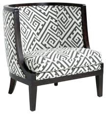 Chevron Accent Chair Black White Accent Chair S Sa S Black White Accent Chairs Living