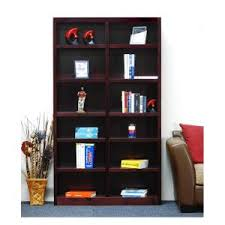 Double Bookcase Concepts In Wood Midas Dry Oak Open Bookcase Mi4884 D The Home Depot