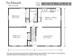 cape cod floor plans modular homes falmouth by westchester modular homes cape cod floorplan