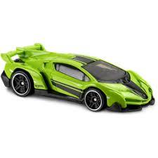lamborghini veneno model car hotwheels hwdvb09lvl lamborghini veneno lime green