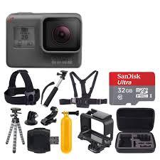 motocross helmet camera gopro hero5 black edition action camera camcorder 32gb deluxe
