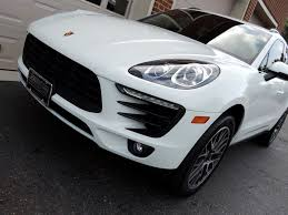 porsche macan white 2015 porsche macan s stock b54455 for sale near edgewater park