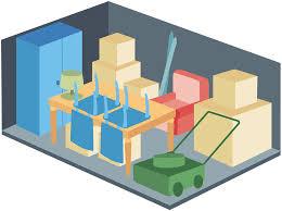 a 1 self storage unit size guide