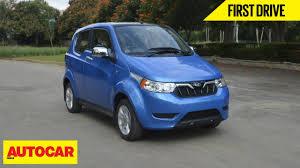 Mahindra Reva E20 Interior Mahindra E2o Plus First Drive Autocar India Youtube
