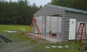 creative uses and differences metal carports enclosed garages
