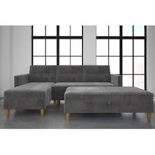 double sided couch sectional sofas wayfair