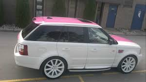 pink range rover range rover sport gloss pink wrap restyleit ca youtube