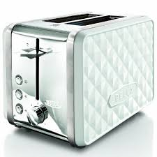 Hamilton Beach Two Slice Toaster Diamonds Collection 2 Slice Toaster This In White Or Teal With The