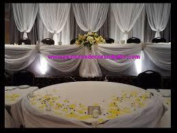 Platinum Wedding Decor Platinum Silver U0026 White Backdrop Wedding Decor U0026 Head Tables