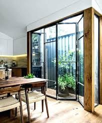 cloison cuisine salon separation de cuisine en verre cloison amovible en fer et verre