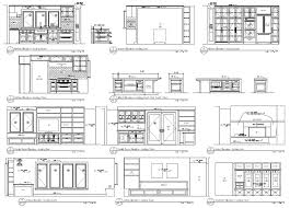 bloc autocad cuisine shaded front rear autocad kitchen cabinet blocks