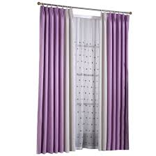 interior beautiful lavender blackout curtains for window decor