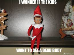 Elf On The Shelf Meme - shelf elf on shelf meme red haired amazona naughty evilelf1