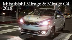 mitsubishi mirage sedan new 2018 mitsubishi mirage hatch and mirage g4 sedan review youtube
