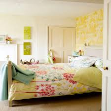 captivating cute bedroom ideas for kids bedroom amaza design cute bedroom idea with gorgeous floral themed bedding set also yellow wall accent and white cabinet