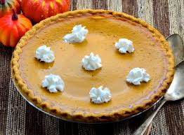 thanksgiving pumpkin pie uses fresh pumpkin recipe genius kitchen