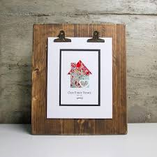 useful housewarming gifts our first home personalized home map gift new house housewarming