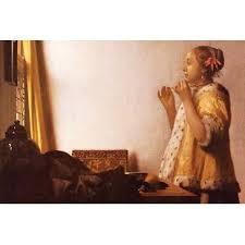 vermeer pearl necklace johannes vermeer wall you ll wayfair
