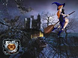 dark halloween wallpaper witches wallpapers pictures wallpapersafari