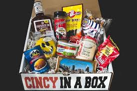 cincinnati gift baskets 10 item cincy in a box cincy in a box