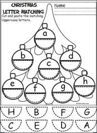 free ornament alphabet activity students cut and