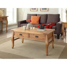 linon home decor santa fe antique pine coffee table 76055ant01u