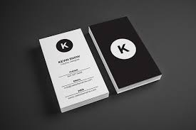 Minimal Design Business Cards Simple Minimal Business Card Business Card Templates Creative